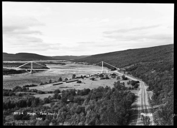 Foto av Tanabru fra 1952
